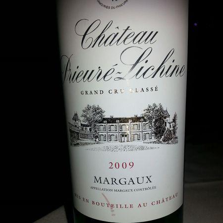 Château Prieuré-Lichine Margaux Red Bordeaux Blend 2009