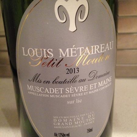 Louis Metaireau Petit Mouton Muscadet de Sèvre-et-Maine Melon de Bourgogne 2015