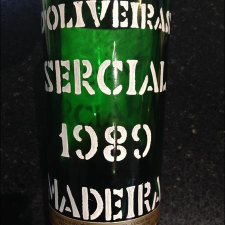 D'Oliveiras Vintage Madeira Sercial 1989