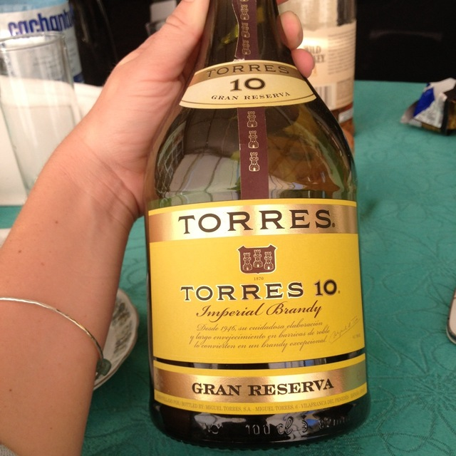 Torres 10 Gran Reserva Imperial Brandy NV