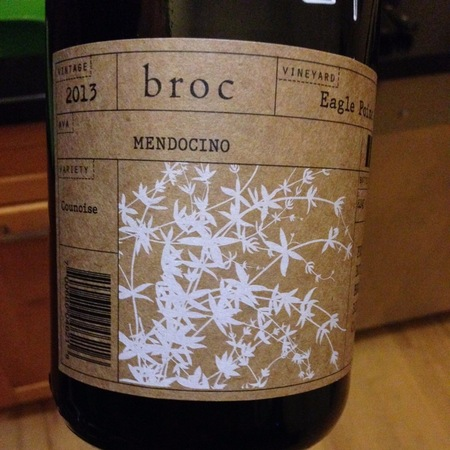 Broc Cellars Eagle Point Ranch Counoise   2015