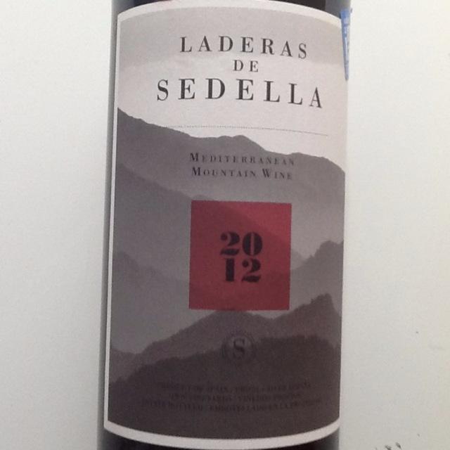 Laderas de Sedella Mediterranean Mountain Red Blend 2012