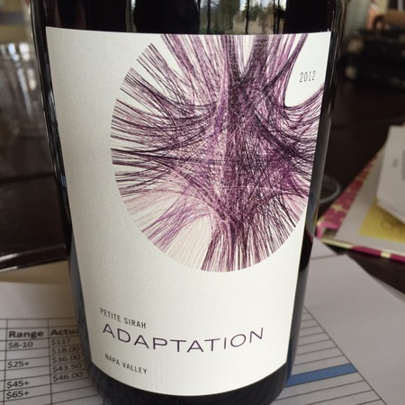 Odette Estate Adaptation Petite Sirah 2015