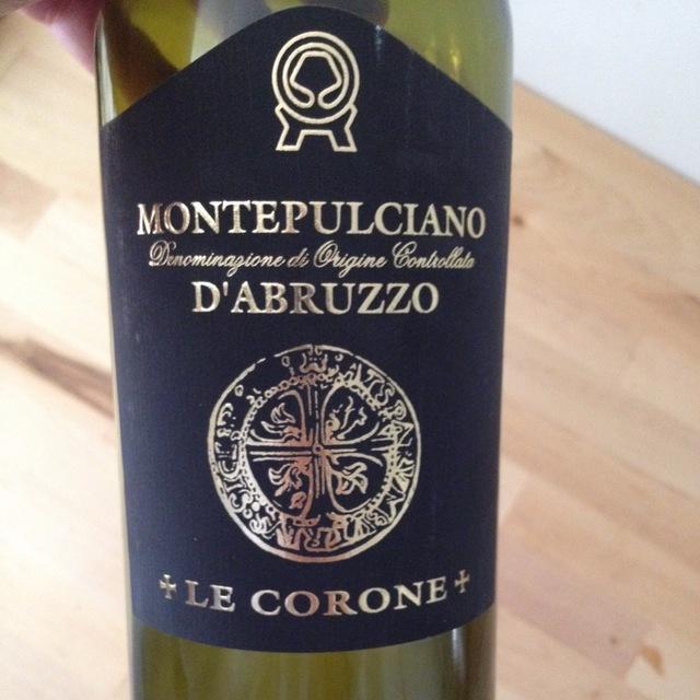 Le Corone Montepulciano d'Abruzzo 2013