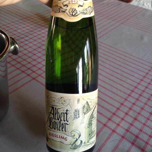 Alsace Riesling 2012