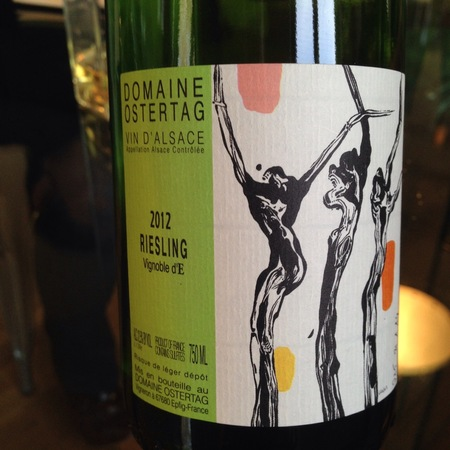 Domaine Ostertag Vignoble d'E Riesling 2014