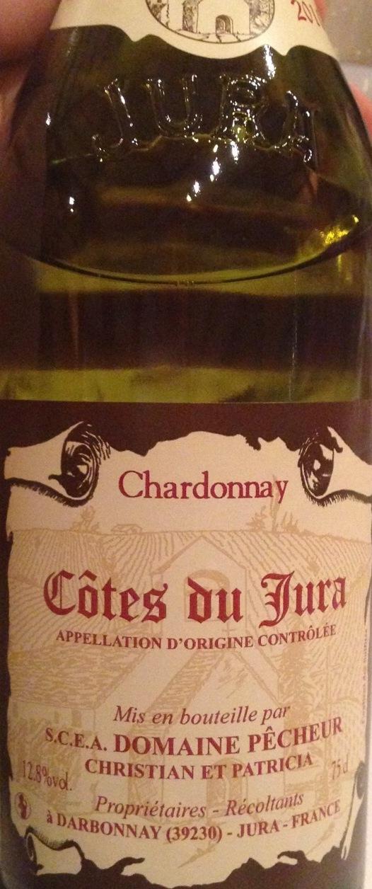 Côtes du Jura Vin Jaune Chardonnay 2014