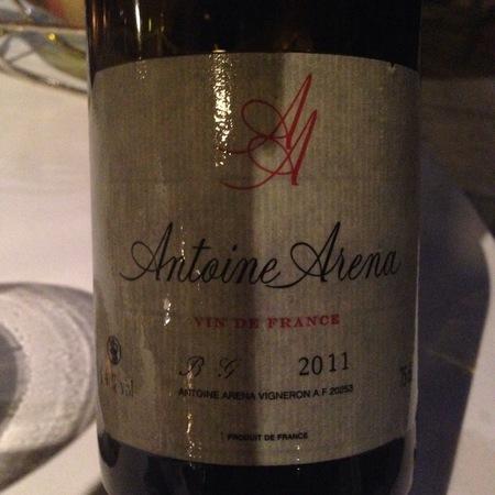 Antoine Arena Vin de France BG Bianco Gentile 2015