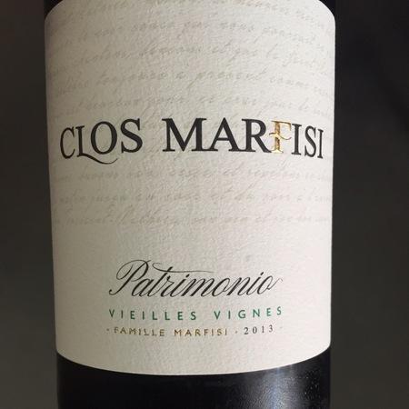 Clos Marfisi Vieilles Vignes Patrimonio Nielluccio 2015