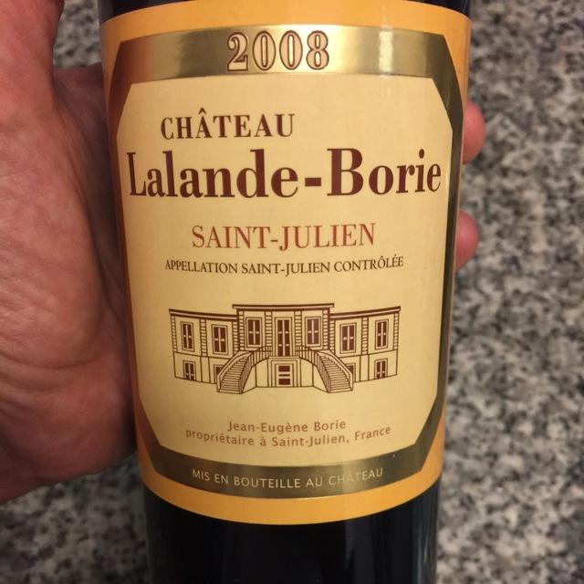 Saint-Julien Red Bordeaux Blend 2008