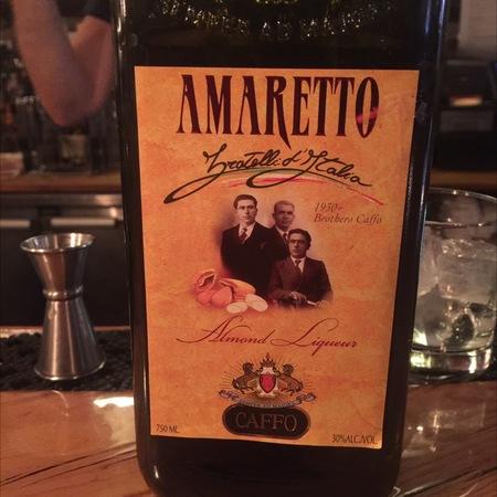 Caffo Amaretto Almond Liqueur  NV