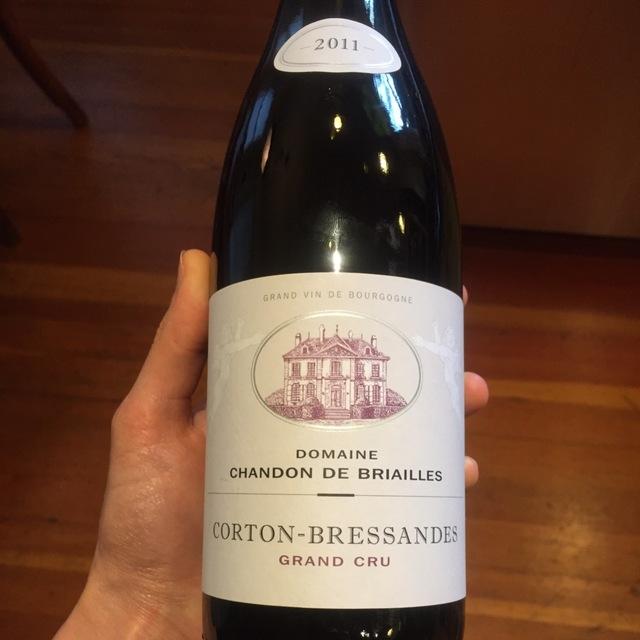 Les Bressandes Corton Grand Cru Pinot Noir 2011