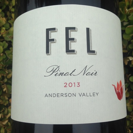 FEL Wines Anderson Valley Pinot Noir 2013