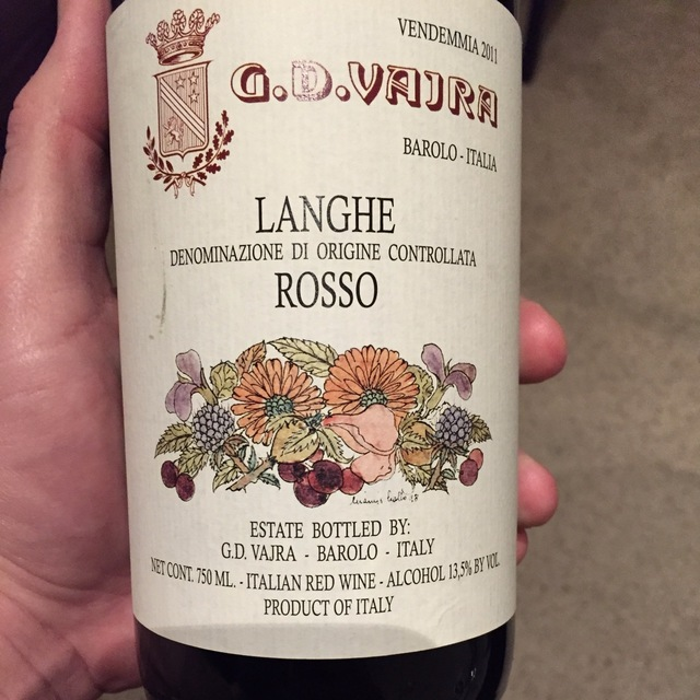 Langhe Rosso Nebbiolo Blend 2011