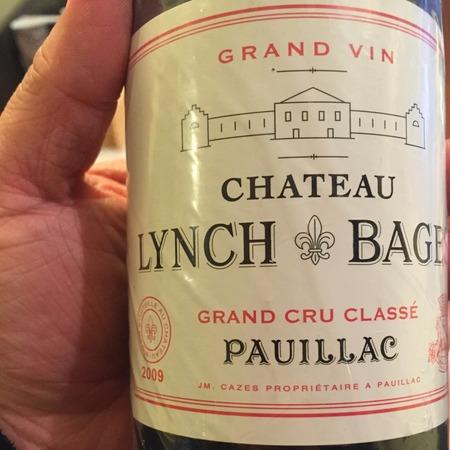 Château Lynch-Bages Pauillac Red Bordeaux Blend 2009