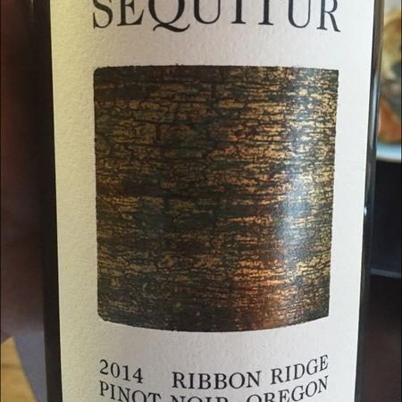 Sequitur Ribbon Ridge Pinot Noir 2014