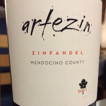 Artezin Mendocino County Zinfandel NV