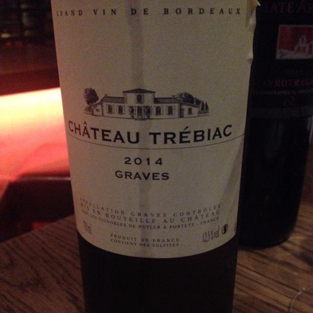 Graves White Bordeaux Blend 2014