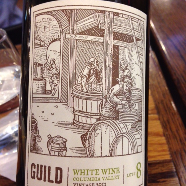 Lot #8 Columbia Valley White Blend 2013