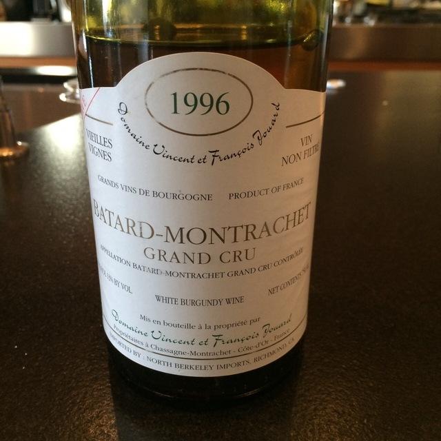 Bâtard-Montrachet Grand Cru Chardonnay 1998