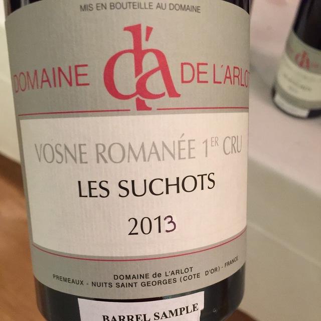 Les Suchots Vosne-Romanée 1er Cru Pinot Noir 2013
