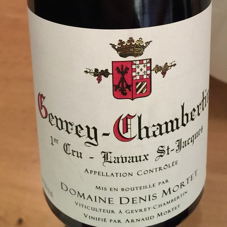 Domaine Denis Mortet Lavaux St. Jacques Gevrey-Chambertin 1er Cru Pinot Noir 2013