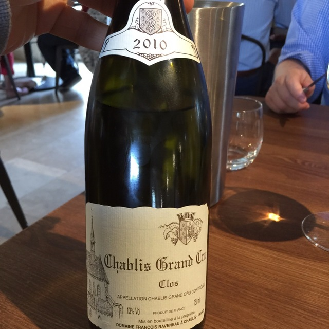 Clos Chablis Grand Cru Chardonnay 2010
