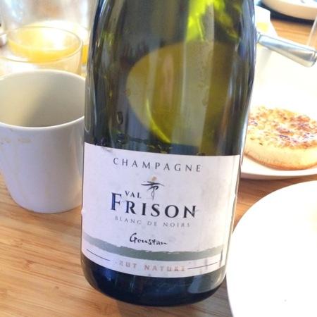 Val Frison Goustan Brut Nature Blanc de Noirs Champagne Pinot Noir NV