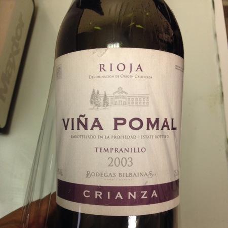 Bodegas Bilbainas Viña Pomal Crianza Rioja Tempranillo 1981