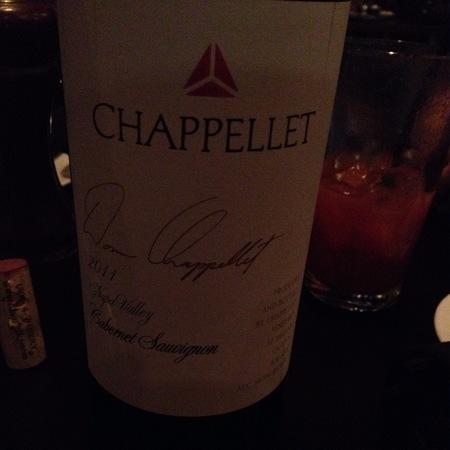 Chappellet Signature Napa Valley Cabernet Sauvignon 2014
