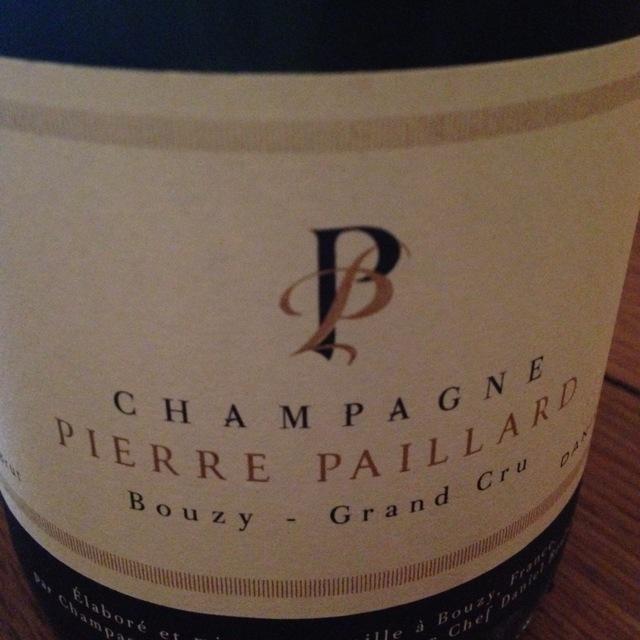 Bouzy Grand Cru Brut Champagne Blend 2004