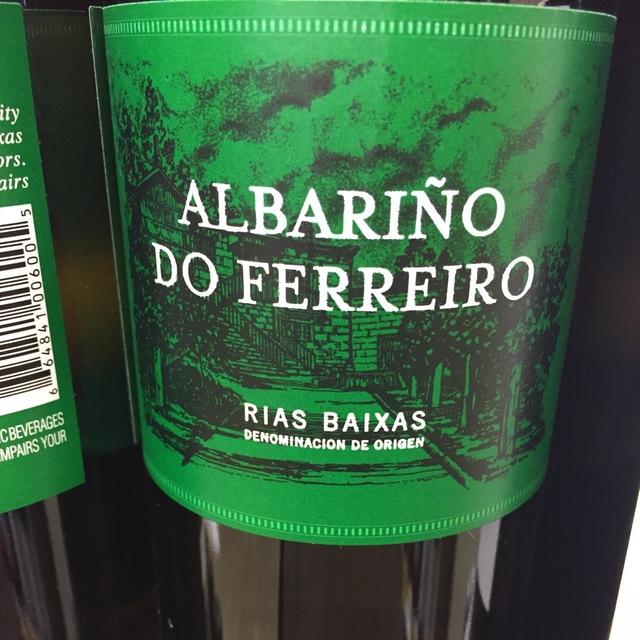 Rías Baixas Albariño 2014