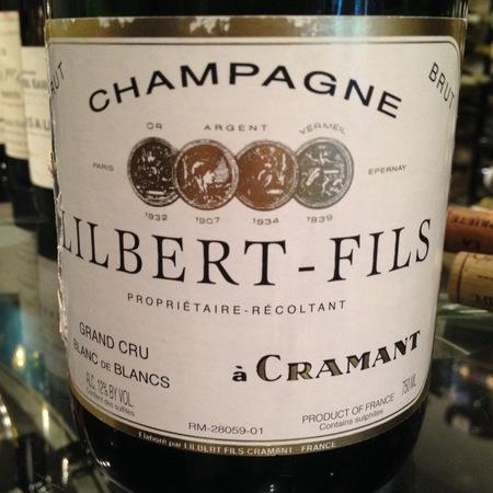 Lilbert-Fils Cramant Brut Blanc de Blancs Grand Cru Champagne Chardonnay NV (375ml)