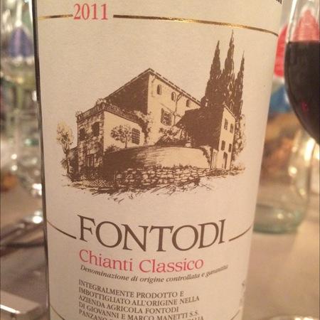 Fontodi Chianti Classico Sangiovese 2011