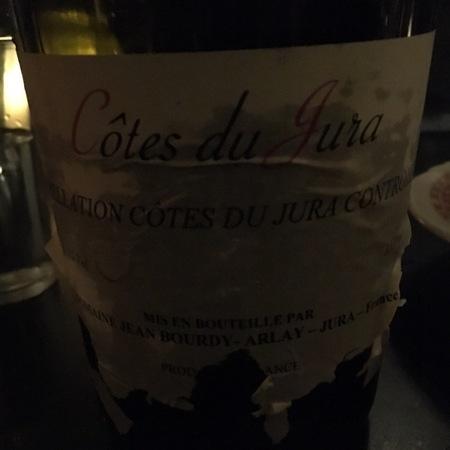 Domaine Jean Bourdy Côtes du Jura Red Blend 2011