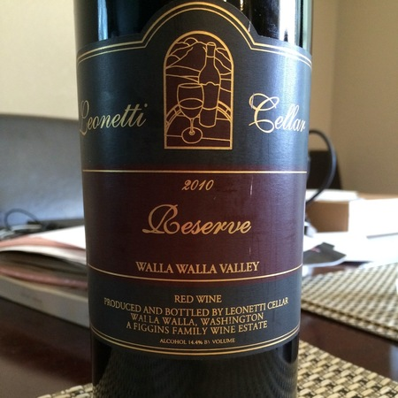 Leonetti Cellar Reserve Walla Walla Valley Cabernet Sauvignon Blend 2013