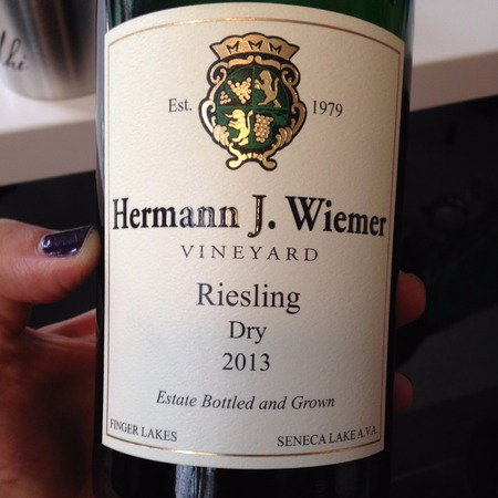 Hermann J. Wiemer Estate Grown Dry Riesling 2016