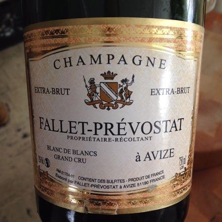Fallet-Prévostat Extra-Brut Blanc de Blancs Grand Cru Champagne Chardonnay NV