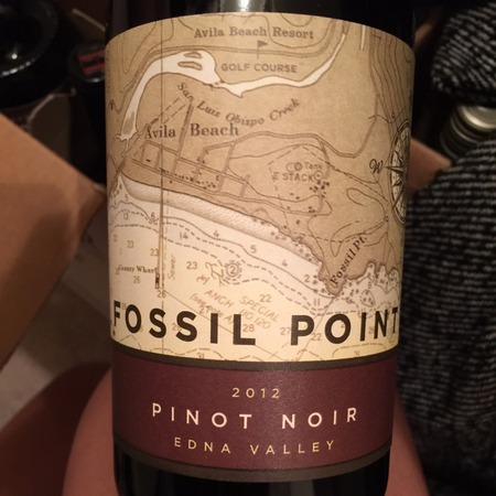 Fossil Point Wines Edna Valley Pinot Noir 2015