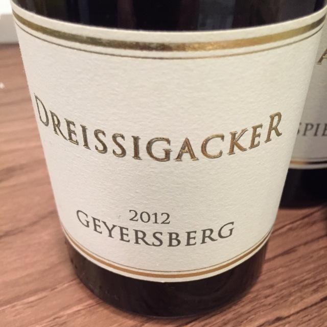 Geyersberg Riesling 2012