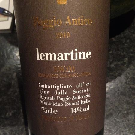 Poggio Antico Lemartine Toscana IGT Sangiovese Blend 2014
