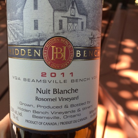 Hidden Bench Nuit Blanche Rosomel Vineyard Sémillon-Sauvignon Blanc Blend NV