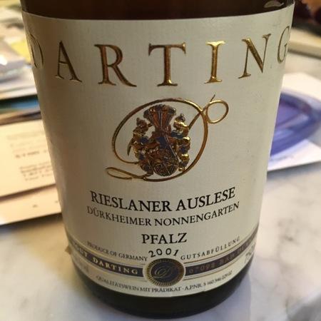 Weingut Darting Durkheimer Nonnengarten Auslese Rieslaner 2001