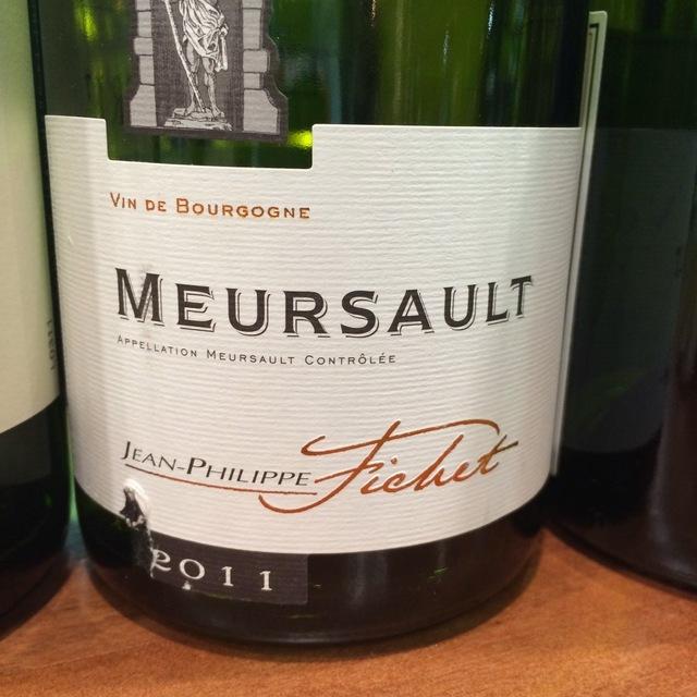 Meursault Chardonnay 2013