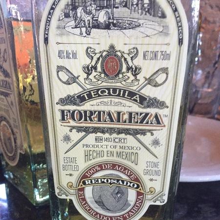 Fortaleza Tequila Reposado NV