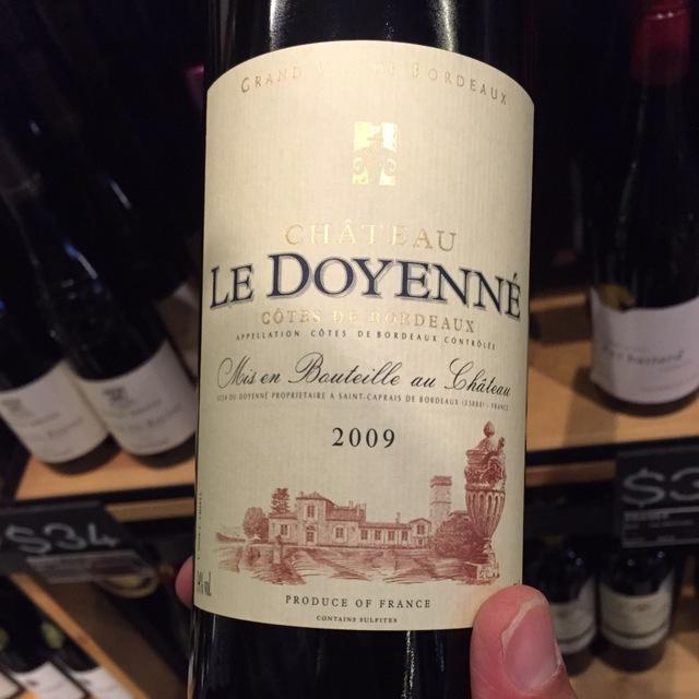 Premières Côtes de Bordeaux 2009