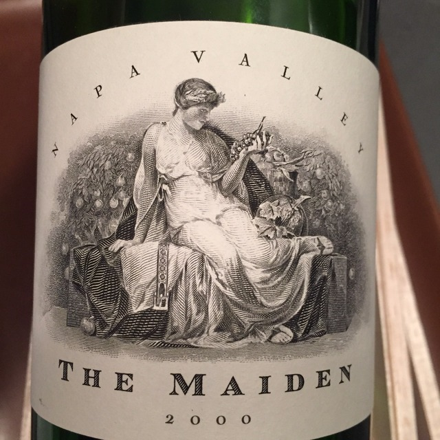 The Maiden Napa Valley Red Bordeaux Blend 2000