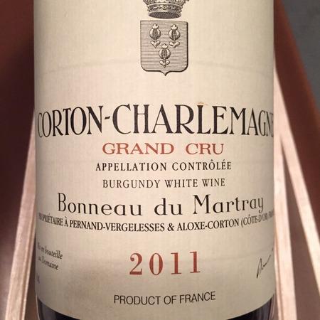 Bonneau du Martray Corton-Charlemagne Grand Cru Chardonnay 2013