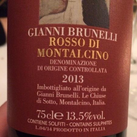 Martoccia di Brunelli Luca Rosso di Montalcino Sangiovese 2013