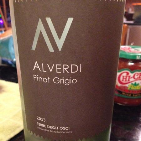 Alverdi Terre Degli Osci Pinot Grigio 2016 (3000ml)